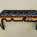 Atrophy - Patch - Atrophy back logo patch
