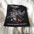 Dismember - Patch - Dismember back patch