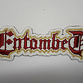 Entombed - Patch - Entombed back logo patch