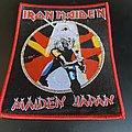 Iron Maiden - Patch - Iron Maiden maiden japan