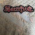 Sacrifice - Patch - Sacrifice back logo patch