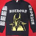 Bathory - TShirt or Longsleeve - Bathory yellow goat