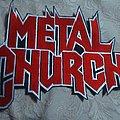 Metal Church - Patch - Metal church back logo patch