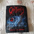 Obituary - Patch - Obituary Cause of death back patch