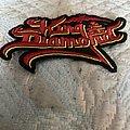 King Diamond - Patch - King Diamond back logo patch