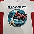 Kreator - TShirt or Longsleeve - Kreator Flag of hate white