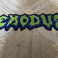 Exodus - Patch - Exodus back logo patch