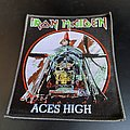 Iron Maiden - Patch - Iron Maiden Aces high