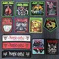 Overkill - Patch - Overkill, Ozzy, Pestilence, Possessed, Pink Floyd, Rainbow, Rotting Christ,...