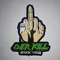 Overkill - Patch - Overkill back patch