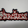 Merciless - Patch - Merciless back logo patch