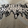 Hellhammer - Patch - Hellhammer back logo patch