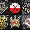 Slayer - Patch - Embroidered back patches