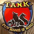 Tank - Patch - Tank filth hounds back patch