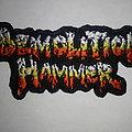 Demolition Hammer - Patch - Demolition Hammer back logo patch