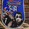 King Diamond - Patch - King Diamond woven patch