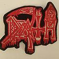 Death - Patch - Death back logo patch