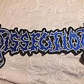 Dissection - Patch - Dissection back logo patch
