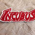 Incubus back Shaped logo patch h