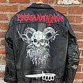 Proclamation - Battle Jacket - Proclamation – Execration Of Cruel Bestiality Hand-Painted Leather Jacket