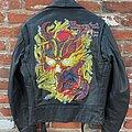 Mercyful Fate - Battle Jacket - Mercyful Fate - Don't Break the Oath, Hand Painted Leather Motorcycle Jacket