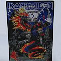 Iron Maiden - Patch - Iron Maiden woven BP