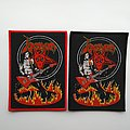 Venom - Patch - Venom on fire