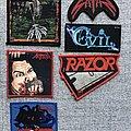 Razor - Patch - Razor, SATAN, Evil ect