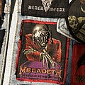 Megadeth - Patch - Unfinished fourth battle jacket