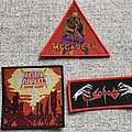 Nuclear Assault - Patch - Nuclear Assault, Megadeth, Sodom for David Dynamite
