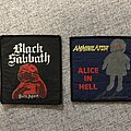 Annihilator - Patch - Annihilator and Black Sabbath