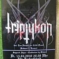 Triptykon - Other Collectable - Triptykon - Signed Flyer by Tom G. Warrior @ first Triptykon Gig Ever!