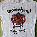 Motörhead World Cup England Shirt