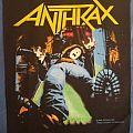 Vintage Anthrax back patch