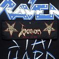 Venom- Welcome To Hell Vintage Woven Patch