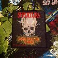 Sepultura- Death From The Jungle Woven Patch