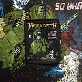 Megadeth- So far, So good... So what! Vintage Printed Patch