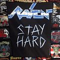 Raven - Stay Hard Vintage Backpatch
