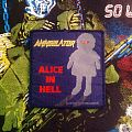 Annihilator- Alice In Hell Woven Patch