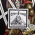 Crucifixion- Take It Or Leave It Woven Patch