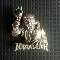 Megadeth- Rust In Peace official Pin Other Collectable
