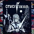 Crucifixion- Green Eyes Backpatch