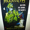 Patch - Megadeth- so far,so good.. So what! Vintage Backpatch
