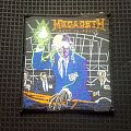 Megadeth- Rust In Peace woven patch