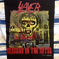 Slayer- Seasons In The Abyss Vintage Backpatch