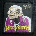 Patch - Megadeth- Mary Jane woven Patch