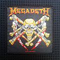 Patch - Megadeth- killing is my business Woven Patch