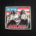 Overkill- Under The Influence rubber Patch
