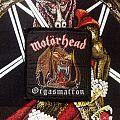 Motörhead- Orgasmatron Woven Patch