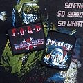 Broken Bones - Patch - Broken Bones- F.O.A.D Woven Patch & Megadeth- Killing Is My Business Printed...